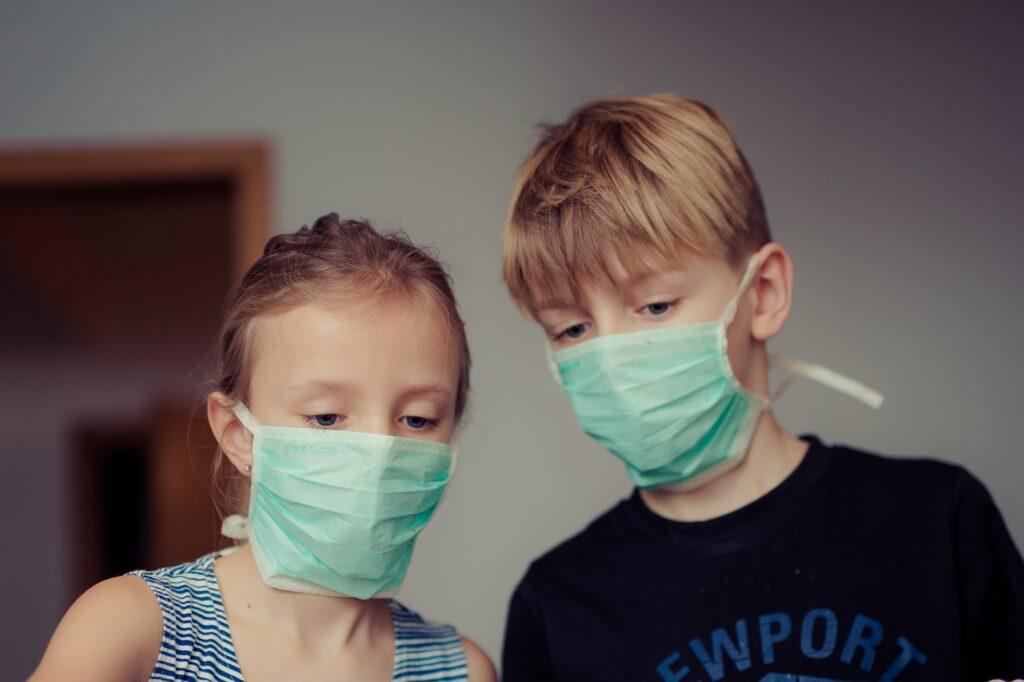 Mascherine protettive per bambini