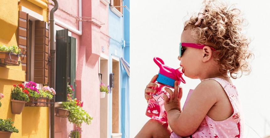 Tazze con beccuccio per bambini