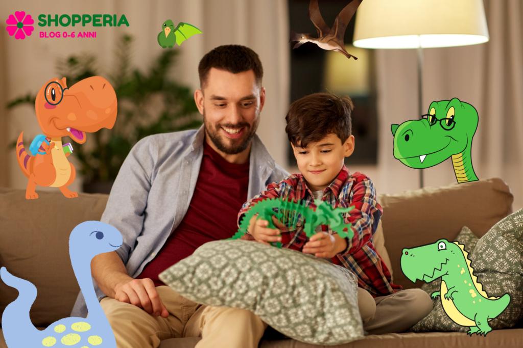 Come creare un parco dinosauri a casa